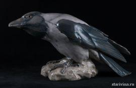 Большая серая ворона, Bing & Grondahl (Dahl Jensen), Дания, 1950-е