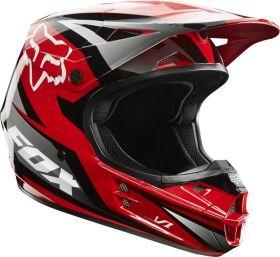Мотошлем Fox Racing V1 Race Helmet ECE red