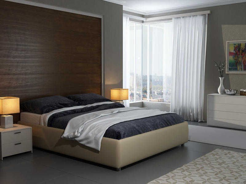 Кровать Veda 1 Base с основанием (без иголовья) | Орматек