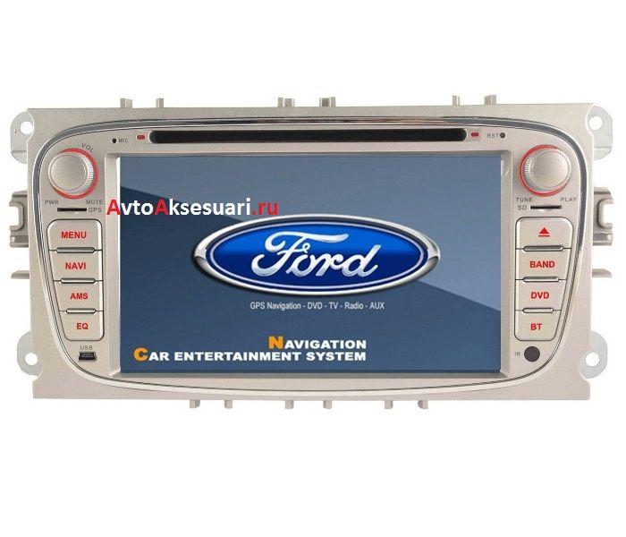 Штатная магнитола для Ford Focus 08-11 / Mondeo 07-11 / S-Max 08-11