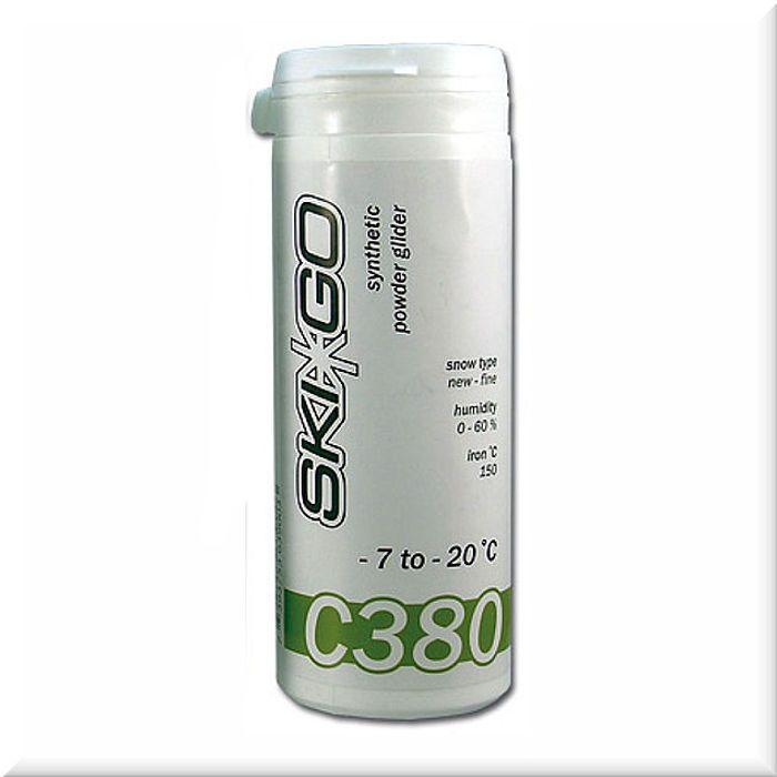 Скользящий порошок-отвердитель Ski-Go C380 -7...-20 green