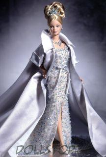 Коллекционная кукла  Барби Кристальный Юбилей -  Crystal Jubilee Barbie Doll