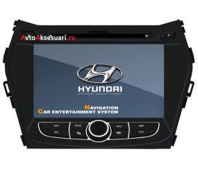 Штатная магнитола для Hyundai IX45 2012/ Santa Fe