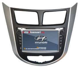 Штатная магнитола для Hyundai Solaris