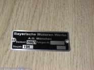 Табличка BMW горизонтальная