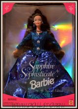 Коллекционная кукла барби - Sapphire Sophisticate Barbie Doll