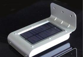 Лампа на солнечных батареях для улицы