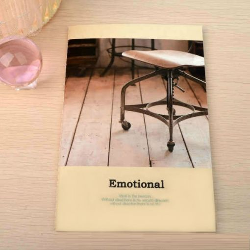 "Тетрадь ""Emotional"" - Chair"