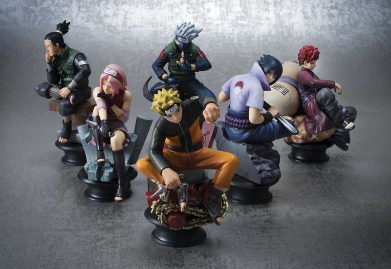 "Коллекционный набор статуэток по аниме ""Naruto"""