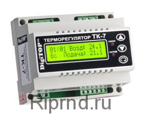 Терморегулятор ТК-7 (3х-кан) недельный