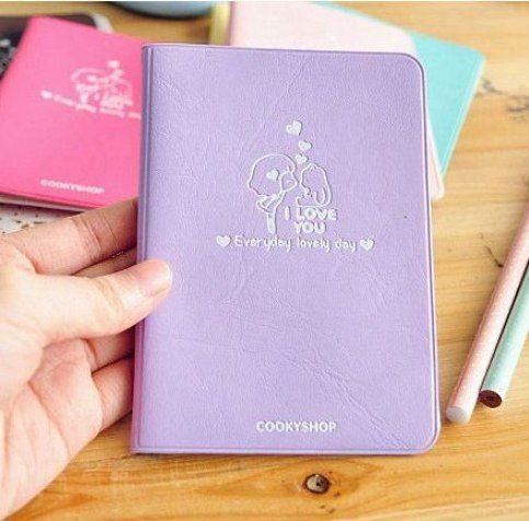 """Обложка для паспорта """"Lovely Day"""" (разные цвета)"""
