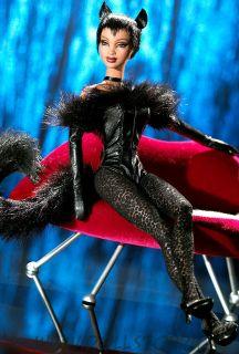Коллекционная кукла Барби Черная пантера  Lounge Kitties