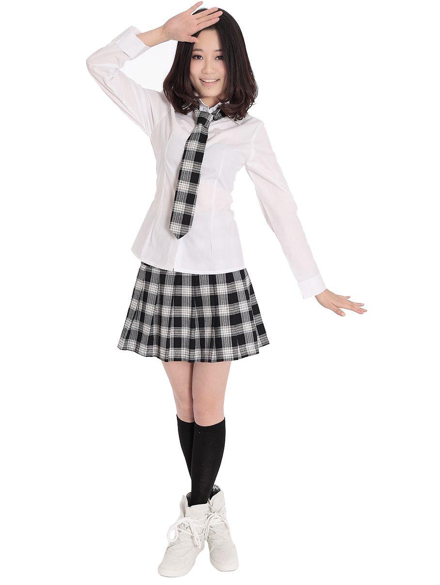 Японская школьная форма с длинным рукавом (весна-лето)