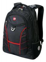 """Рюкзак Wenger Rad 15"""", черный/красный, 35х20х47 см, 33 л"""