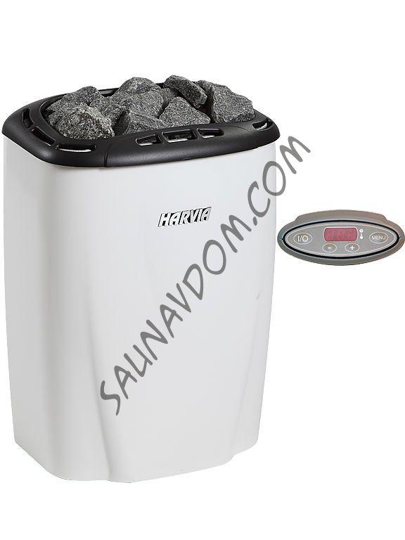 Электрическая печь Harvia Moderna V60Е White
