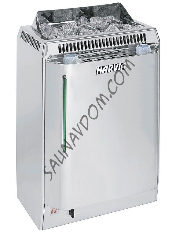 Электрическая печь HARVIA Topclass Combi KV80SE AUTO с парогенератором