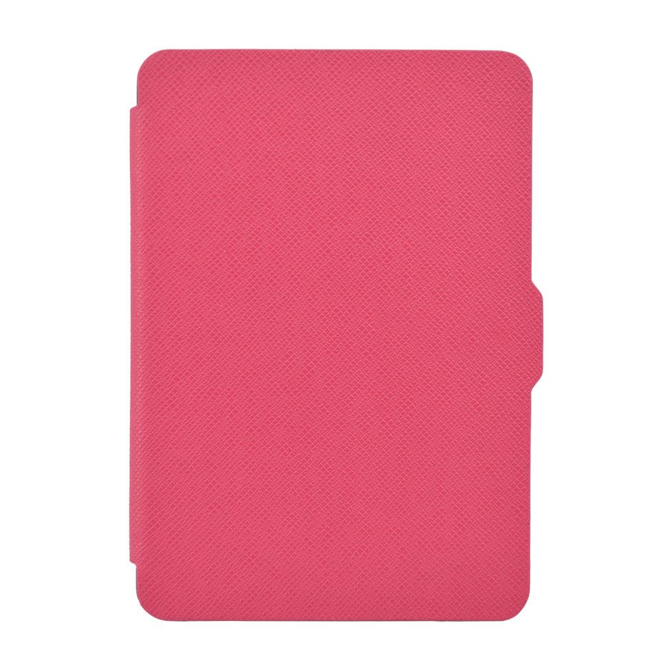 Чехол-обложка  для Amazon Kindle Paperwhite Розовая (с магнитной застежкой)