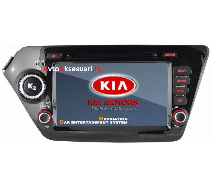 Штатная магнитола для Kia Rio 2012+