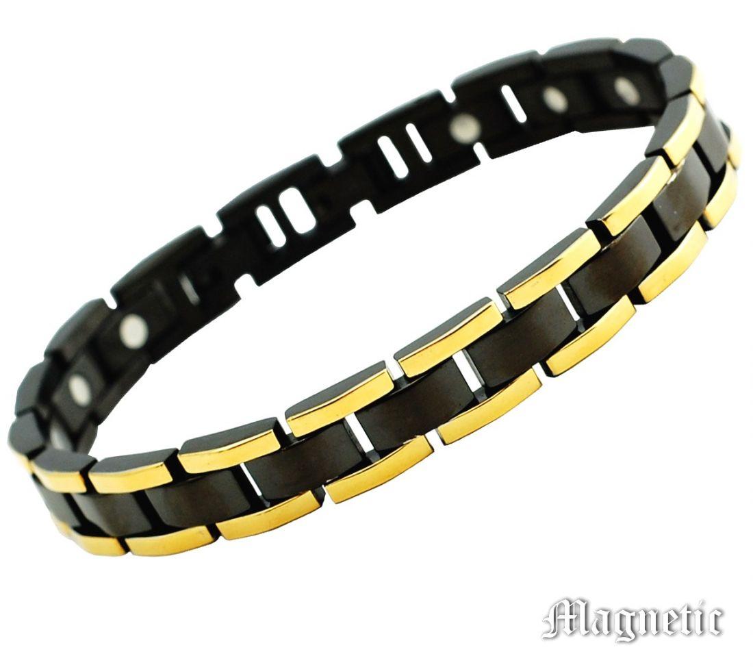 Дизайнерский браслет с биомагнитами
