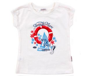Блуза для девочки Море любви
