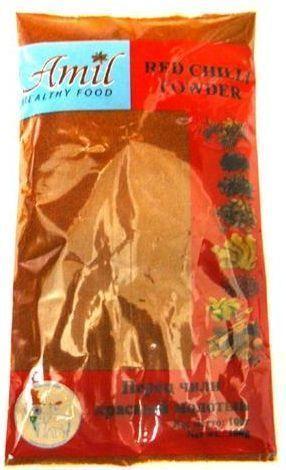Перец чили красный молотый | 50 г | Amil
