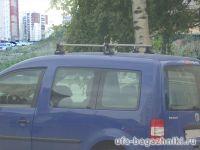 Багажник на крышу Volkswagen Caddy, Атлант, прямоугольные дуги