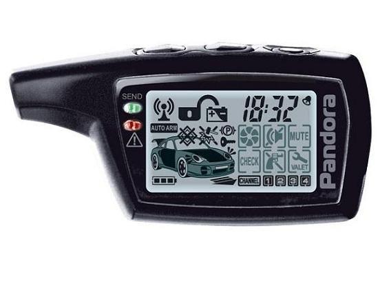 Брелок для автосигнализации PANDORA DXL 3000/3100/3170/3300 (i-mode)