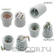 Электропатрон керамический Е-14 (с уголком)