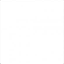 Пристенный П-профиль к рейке ППР-084, белый глянец