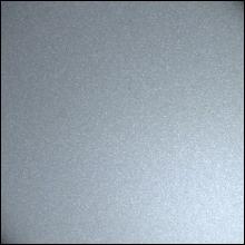 Пристенный П-профиль к рейке ППР-084, серебро металлик