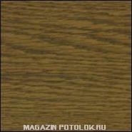 Пристенный П-профиль к рейке ППР-084, темный дуб