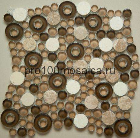 S-825 Мозаика серия EXCLUSIVE, размер, мм: 280*280 (NS Mosaic)