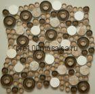 S-825 камень. Мозаика серия EXCLUSIVE, вид MIX (СМЕСИ),  размер, мм: 280*280 (NS Mosaic)