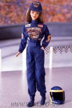 Коллекционная кукла Барби Гонщица к 50-летию Наскар - 50th Anniversary NASCAR Barbie Doll