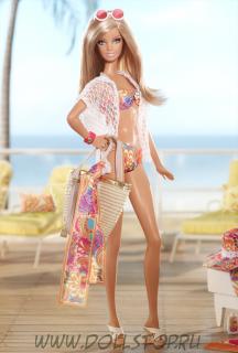 Коллекционная кукла Барби Малибу от Тины Терк - Malibu Barbie Doll By Trina Turk