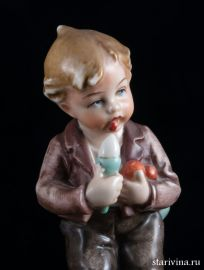 Мальчик с мороженым, Wagner & Apel, Германия, до 1949 г