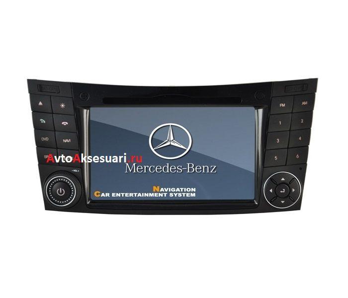 Штатная магнитола для Mercedes Benz E-class W211 02-09/ G class W463 01-08