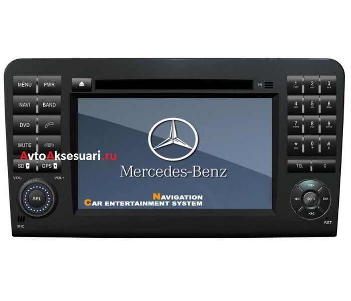 Штатная магнитола для Mercedes Benz ML class W164/ GL class