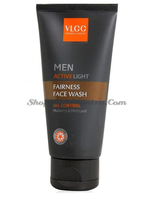 Очищающий гель для мужчин VLCC Men Active Light Face Wash