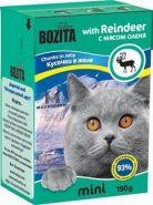 BOZITA with Reindeer - Кусочки в желе с мясом оленя (190 г)
