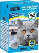 BOZITA with Seafood - Кусочки в соусе Морской коктейль (190 г)