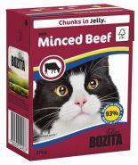 BOZITA with Minced Beef - Кусочки в желе с рубленой говядиной (370 г)