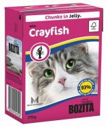 BOZITA with Crayfish - Кусочки в желе с лангустом (370 г)