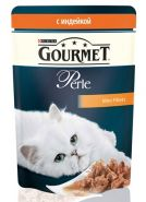 Gourmet Perle - Кусочки в подливе с индейкой (85 г)