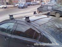 Багажник на крышу Volkswagen Passat, Атлант, аэродинамические дуги