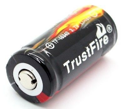 Аккумулятор Trustfire 16340 880мАч