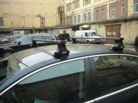 Багажник на крышу Volkswagen Passat, Атлант, прямоугольные дуги