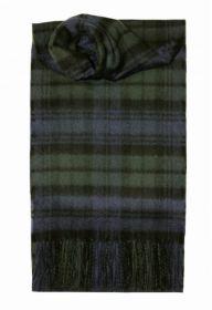 шарф 100% драгоценный кашемир , расцветка Блэк Уотч Черная Стража Британской Империи