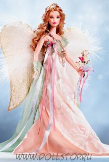 Коллекционная кукла Барби Золотой Ангел - Golden Angel Barbie Doll