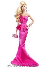 Коллекционная кукла Барби Розовое Платье - The Barbie Look Collection - Red Carpet Barbie Pink Gown